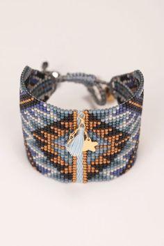 Bracelet - macui-be-l-3351 - Blue / Navy 1