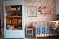 soft colors for a girl's nursery
