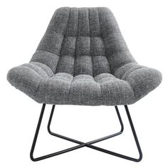 Inspired by the look of an egg, the !nspire Mid-Century Accent Egg Chair makes a comfortable seating solution. This modern chair features a tufted. Upholstered Accent Chairs, Chair Upholstery, Metal Chairs, Side Chairs, Desk Chairs, Club Chairs, Chair Backs, Barrel Chair