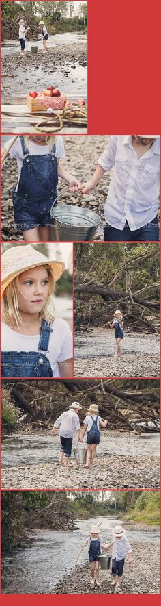 Images from my Huckleberry Finn inspired shoot. Read the full post here: www.mellysphotogr... ~ 2013, blog, child, children, family, friends, home, image, inspiration, kids, life, lifestyle, love, MellyS, my life, nature, our moments, parenting, people, personal, photo, photo gallery, photographer, photography, photos, pictures, portrait, portraiture, quotes, relationships, stories, thoughts, world, creek, water, raft, denim, overalls, apples ~