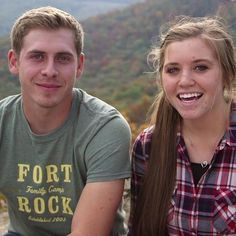 Jana Duggar will be forced to play bridesmaid yet again! The reality TV star's younger sister Joy-Anna, is engaged to her boyfriend, Austin Forsythe. The family announced today that. Joy Anna Duggar, Jinger Duggar, Jill Duggar, Duggar Family Blog, Derick Dillard, Jeremy Vuolo, 19 Kids And Counting, Reality Tv Stars, Beautiful Family