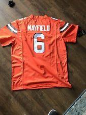 Baker Mayfield  6 CLEVELAND BROWNS Nike Jersey SIZE M 28075b247