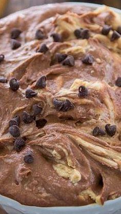 Peanut Butter Brownie Batter Dip