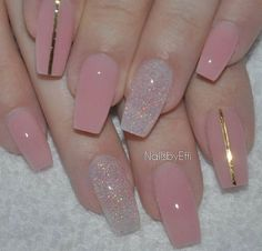 50 Sweet Pink Nail Design Ideas for a Manicure That Suits Exactly What You Need Want a fun summer manicure but think pink nail designs aren't your thing? Miss Nail Addict, listen up. Pink isn't what you remember from your very first manicure. Frensh Nails, Cute Nails, Pretty Nails, Coffin Nails, Pink Toe Nails, Nail Pink, Color Nails, Simple Nail Art Designs, Cute Nail Designs