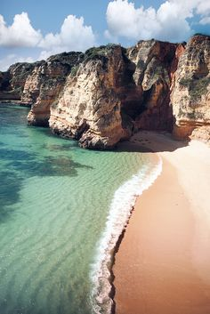 Algarve, Portugal #travel #world #inspiration #wanderlust #globe #earth…