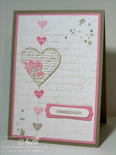Stampin up - valentine