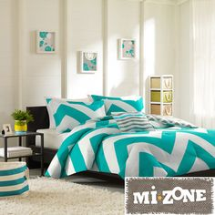 Mizone Aries 4-piece Comforter Set | Overstock.com Shopping - The Best Prices on Teen Comforter Sets