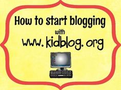 This guide will help you begin blogging in your classroom! Students can use their blog for so many different activities. It is so easy to integrate a blog post into any subject.