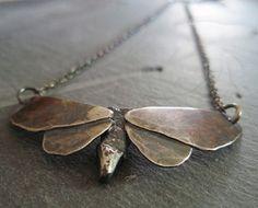 collier papillon... créature soir été
