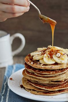 Banana-pancakes-gluten-free [There's some awesome food photography here. Check out other categories as well: seasonal, etc.]