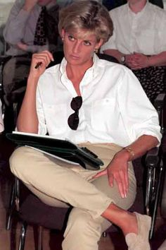 Princess Diana - Casual Chic