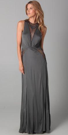 Doo.Ri Macrame Gown with Full Skirt