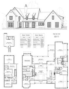 New Home Design Studio Floor Plans 59 Ideas Luxury House Plans, New House Plans, Dream House Plans, House Floor Plans, My Dream Home, Luxury Houses, Dream Houses, Modern Farmhouse Plans, Farmhouse Design
