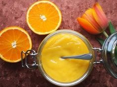 Crema all' arancia senza uova e senza latte ,orange curd recipe - YouTube