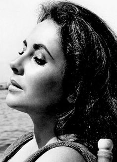 """Elizabeth Taylor on the set of Suddenly Last Summer, 1959. """