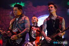 Zacky V, Johnny Christ and Syn Gates — Quebec City (05/12/14)