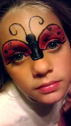 Your Guide to Ladybug Makeup Ideas >> http://cutemakeupideass.com/makeup-ideas/ladybug-makeup-ideas/