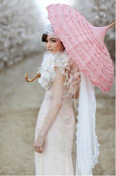 romanticjourneys:  via styleunveiled.com  Claire Pettibone gown