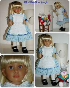 Alice au pays des merveilles ( Poupée Kidz'N'Cats).