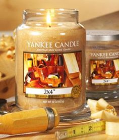Father's Day Gift Ideas: Yankee Candles Man candles.   Riding Mower: the scent of summery cut grass  First Down: an uber-masculine leathery smell Man Town: a manly blend of spices, wood, and musk