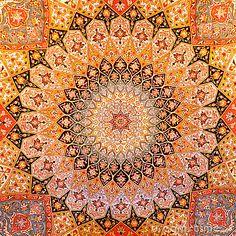 Persian carpet design by Acedubai, via Dreamstime