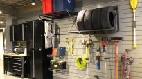 Un garage bien rangé