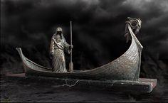 Charon the Ferryman bronzes of myth and legend by Deran Wright