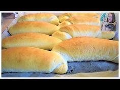 Najlepšie domáce rohlíky (rožky verzia 2020 podľa TOZD) - recept - YouTube Hot Dog Buns, Hot Dogs, Good Food, Bread, Recipes, Youtube, Basket, Food Recipes, Rezepte