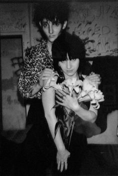 Lydia Lunch and Rowland S. Howard photographed by Manfred Rahs, circa 1991 Rowland S Howard, John Cooper Clarke, Ladies Lunch, The Bad Seed, The New Wave, Thing 1, Weird Fashion, Alternative Music, Post Punk