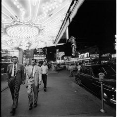 There was no exception when it came to wearing suits in old Vegas. We miss those days.