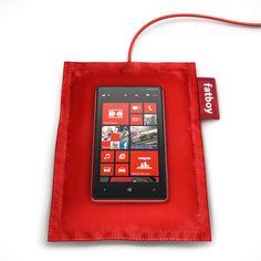 Das Ladekissen für das Lumia 920. Wie ein Fatboy-Sitzsack! :)