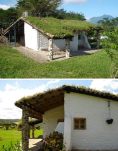 recycled Plastic bottle house South america