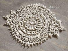 Crochet Lace Edging, Crochet Art, Irish Crochet, Crochet Doilies, Macrame Patterns, Crochet Patterns, Cotton Thread, Crochet Projects, Art Projects