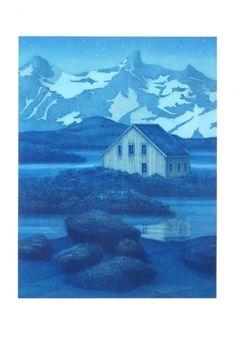 """Intermezzo""   lito by Eva Harr, Norway"