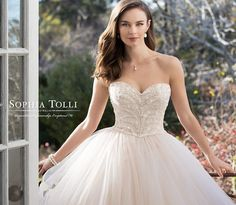 Here at BTM, we get giddy whenever we see anything from Sophia Tolli in our inboxes. And today is no exception because this award-winning bridal designer is sharing her newest collection with us! From princess-worthy pieces to sexy silhouettes that highlight every feminine curve oh-so-glamorously, Sophia Tolli Spring 2018 Bridal Collection is a parade of read more...