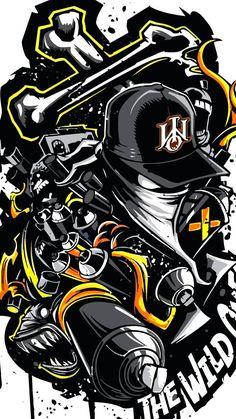 Graffiti Wallpaper Iphone, Crazy Wallpaper, Cartoon Wallpaper Hd, Pop Art Wallpaper, Glitch Wallpaper, Wallpaper Stickers, Graffiti Art, Graffiti Doodles, Graffiti Drawing