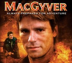His mind is his weapon. Angus MacGyver.