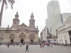 Plaza de Las Armas com a Igreja Matriz
