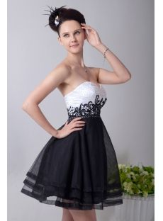White and Black Short Empire Quinceanera Dress Grad Dresses, Formal Dresses, High Low Lace Dress, Masquerade Party, Quinceanera Dresses, Black Shorts, Prom, 15th Birthday, How To Wear