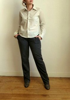 Refashion Co-op: From a man shirt to MY shirt [March 2014]