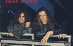 Mille Petrozza & Thomas Such #Angelripper #Kreator #Sodom