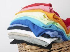 Cómo separar la ropa para lavar
