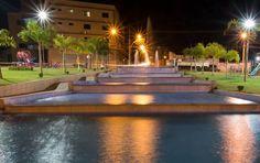 Nossa praça Cônego Trindade com toda sua beleza e luz. #anapolis #praca #luzes #cidades #cities by camafeufilmes http://ift.tt/1YDpikm