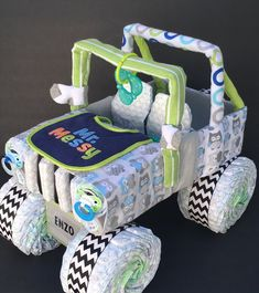 Hey, I found this really awesome Etsy listing at https://www.etsy.com/listing/483466113/owl-jeep-diaper-cake-diaper-cake-diaper