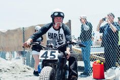At first glance, The Race of Gentlemen, an annual drag race on the Jersey Shore, might appear to be all about badass cars and motorcycles brapping up and down the beach, but truly it's a celebration of American heritage and tradition. I've never been as intimidated behind a camera as when I caught a soul-piercing glance from Ed Jakubowski Sr. on his '47 Harley, but it turns out I had no reason to be intimidated. Everyone was there to have a good time celebrating the American ingenuity that…