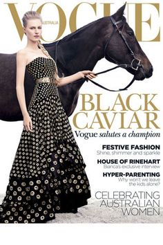 December 2012. Julia Nobis and Black Caviar. Such an amazing horse, one in a million....
