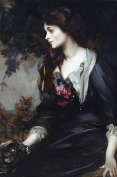 """centuriespast: """" Lady Marjorie Manners (1883–1946), Later Marchioness of Anglesey, Aged 17 James Jebusa Shannon (1862–1923) National Trust, Plas Newydd """""""