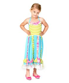 Love this Sun Kissed Bow Dress - Infant, Toddler & Girls by Jelly the Pug on #zulily! #zulilyfinds