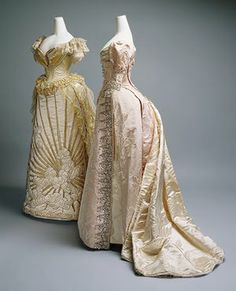 Victorian dresses by Charles Worth
