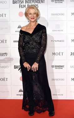 Helen Mirren red carpet 2014